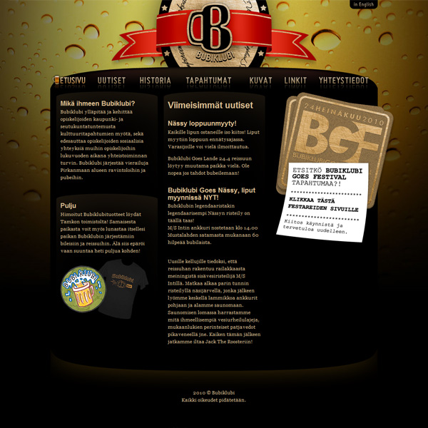 Bubiklubi website