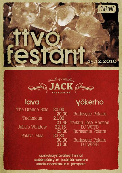TTVO Festival poster
